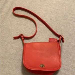 Red Coach purse